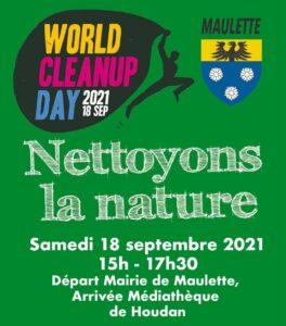 Samedi 18 septembre – Nettoyons la nature